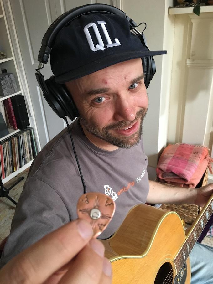 Devadas Labrecque, acoustic guitar & vocal