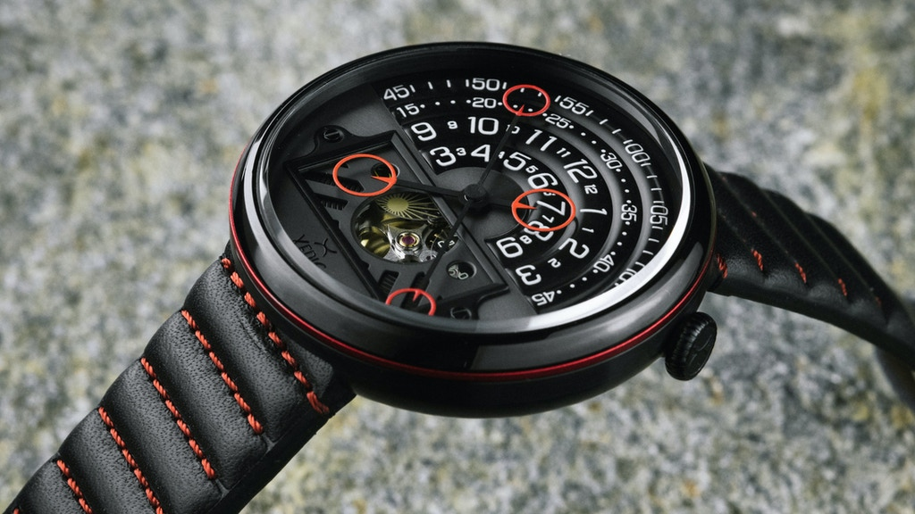 A Guaranteed Conversation Starter: The Halograph II Watch