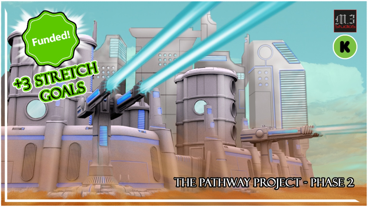 The Pathway Project - Phase 2 - Sci-Fi Wargame Terrain by M3Studios