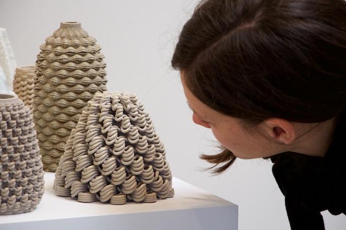 Unique 3D Printed Ceramic Vessel
