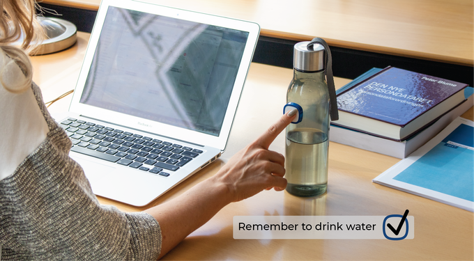 Make drinking water a good habit that you can easily stick to.