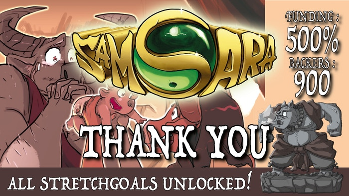 SAMSARA, the Board Game by OKA LUDA PUBLISHING — Kickstarter