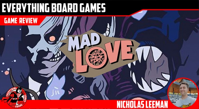 Everything Boardgames Review of Mad Love