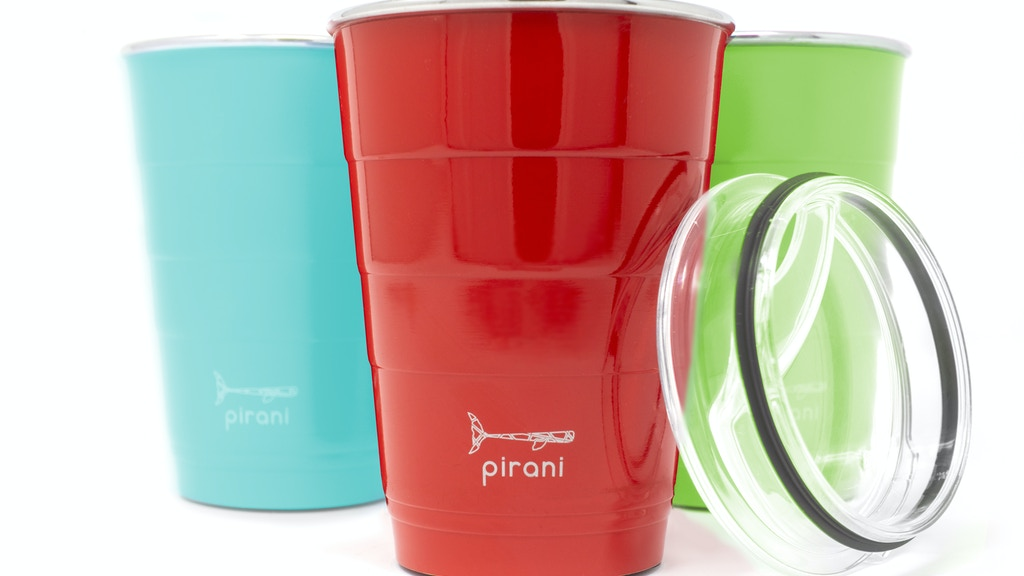 Pirani Party Tumbler - Vacuum Insulated and Sustainable project video thumbnail