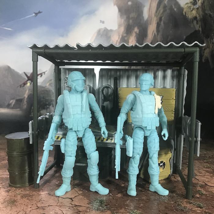 Eagle Force Trooper and Eagle Force Officer