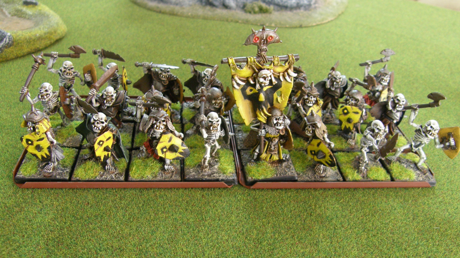 Undead Orc Skeleton Warriors and Cavalry by John McManis