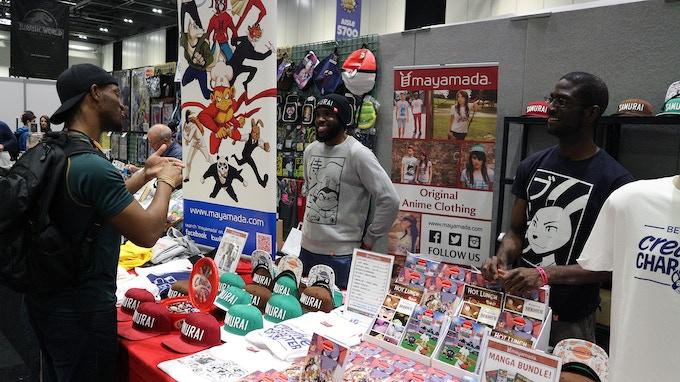 mayamada at London Comic Con