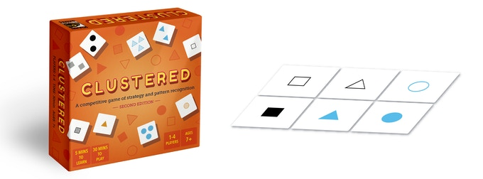 Clustered: 2nd edition - A Strategic Card Game by Sculpin