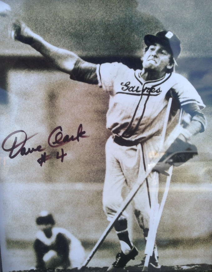 8x10 Signed Dave Clark Photo