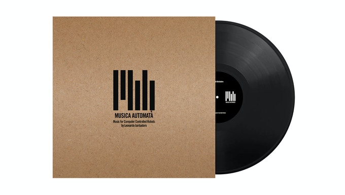 Vinyl with a special handmade silk-screen cover