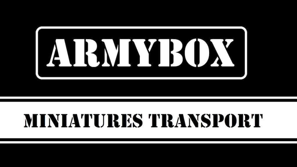 Armybox Miniatures Transport