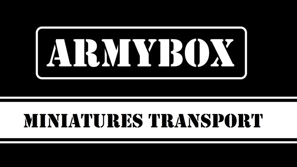 Armybox Miniatures Transport project video thumbnail