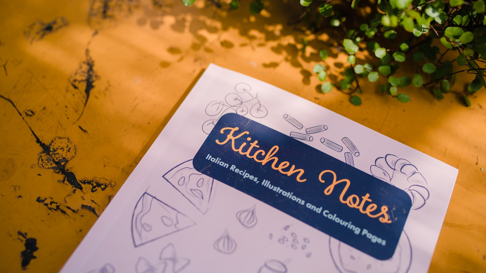Kitchen Notes Illustrated Italian Recipe Book By Tortellini Co