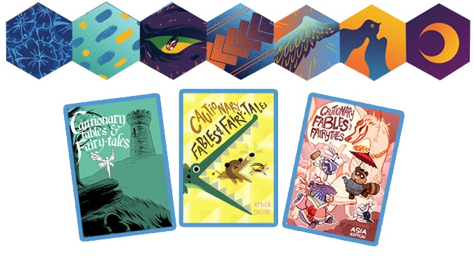 The previous editions of Cautionary Fables and Fairytales!