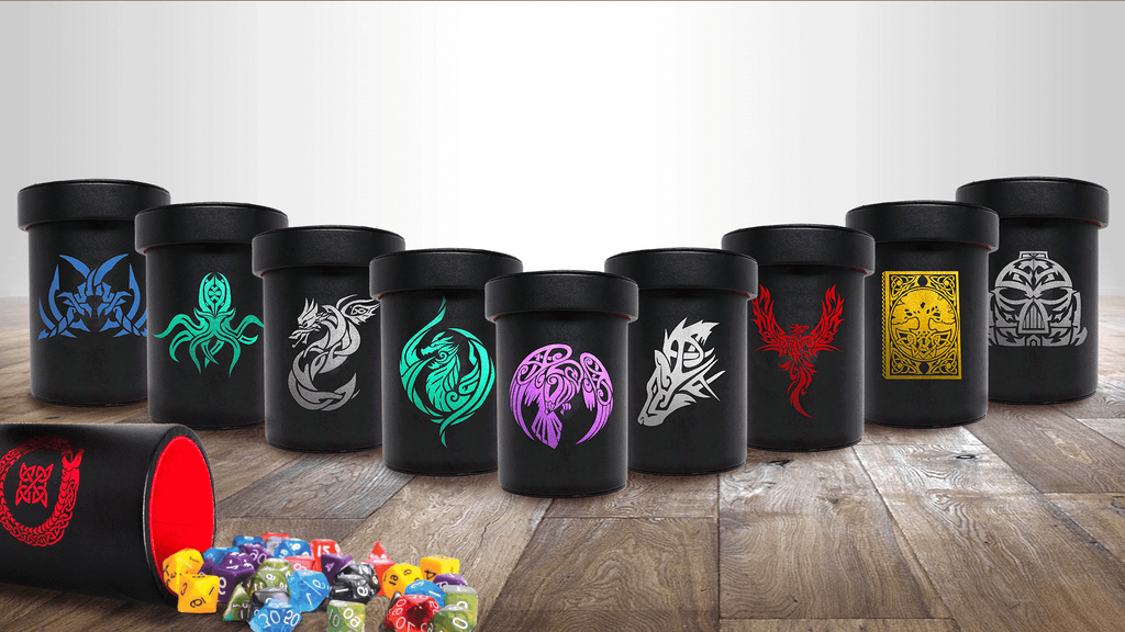 Over-Sized Graphical Dice Cups With Lid project video thumbnail