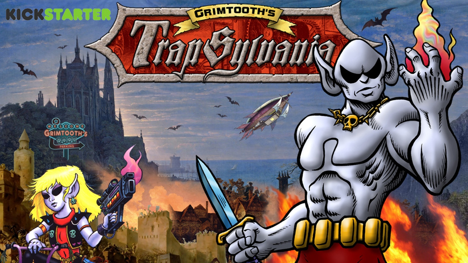 Grimtooth's Trapsylvania (DCC Sourcebook) is the top crowdfunding project launched today. Grimtooth's Trapsylvania (DCC Sourcebook) raised over $50285 from 807 backers. Other top projects include Low Poly Dinos Dinosaur 3D models by 3D Printing Professor, A Mischief of Giant Rats!, Spanish Fort for 28mm wargaming...