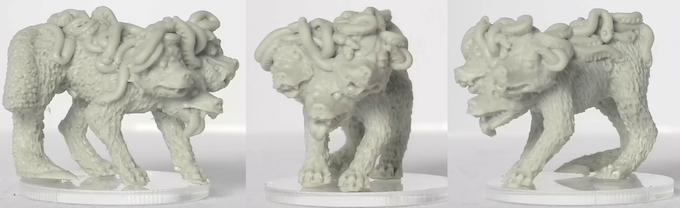 Plain resin miniature, approx 23mm high. Sculpted by Deeper Reaches Miniatures