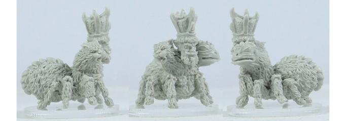 Plain resin miniature, approx 27mm high. Sculpted by John Pickford
