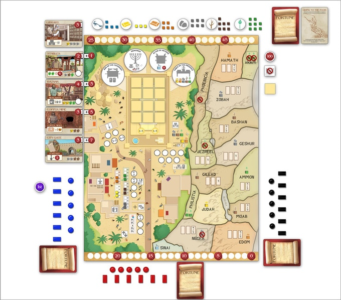Shared Board Cause To Pause: Wisdom Of Solomon Board Game By Funhill Games —Kickstarter