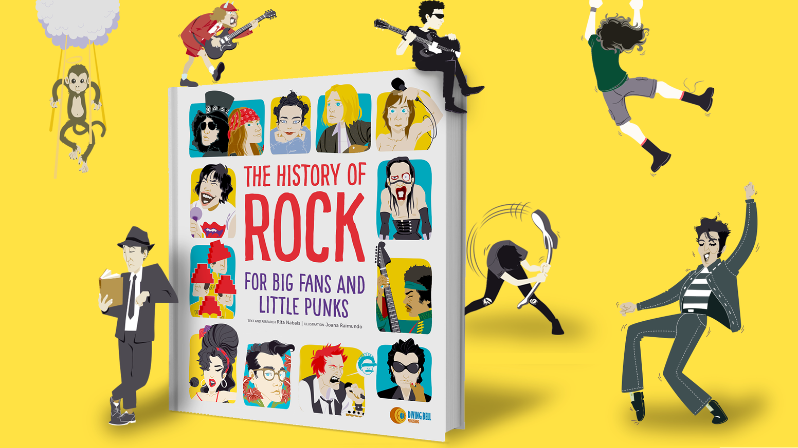 The first-ever complete and illustrated History of Rock music made into a children's book