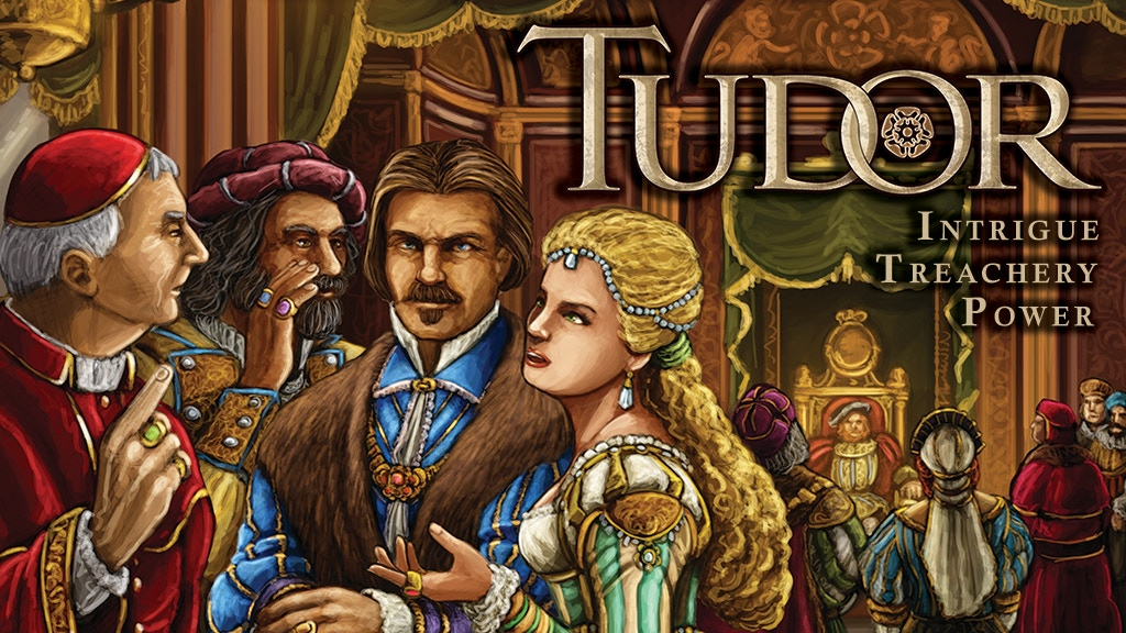 Tudor - A New Boardgame from Academy Games project video thumbnail