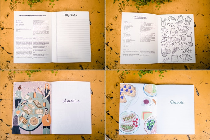 Some of the book pages.This is how it will look like!