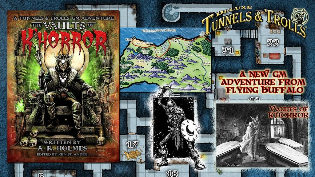 Vault of K'Horror A Tunnels & Trolls GM Adventure project video thumbnail