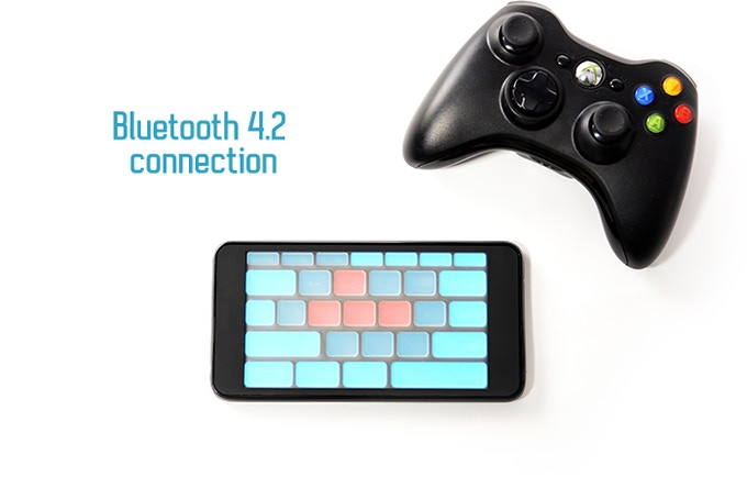 QuickPad is as fast as your gamepad.