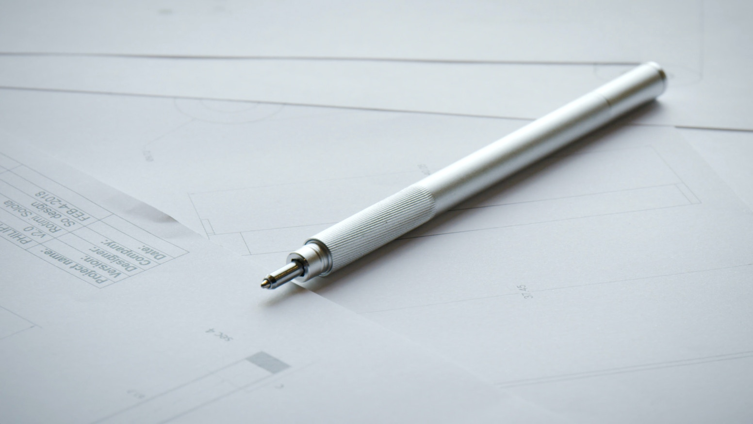 Alt pen— minimalist pen + precision tool