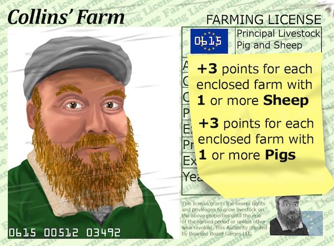 Example Farmer Card