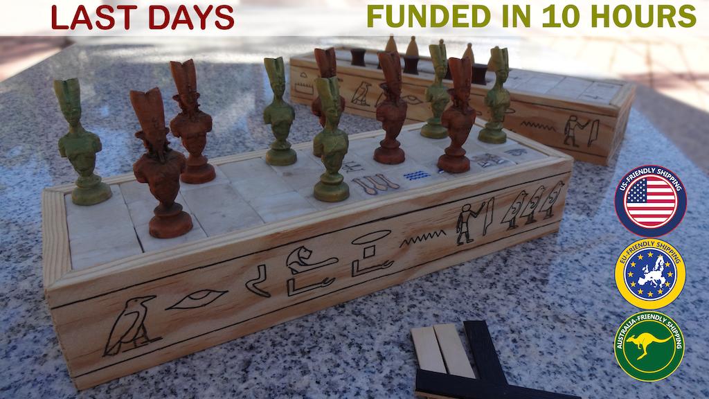 SENET & ASEB: Ancient Egypt board games. miniatura de video del proyecto