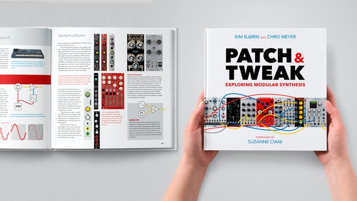 The new book about modular synths, their makers, and masters. Patching secrets, performance tips, history, modules, and techniques.