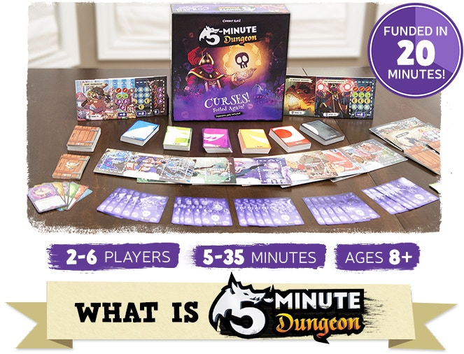 5 minute dungeon curses foiled again expansion by wiggles 3d