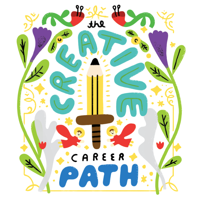 Listen to The Creative Career Path Series on My Podcast