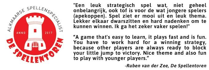 Click for the video review by Ruben and Sebastiaan from De Spellentoren.