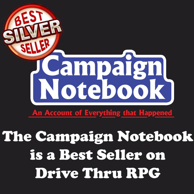 Campaign Spell Book and Campaign Notebook by Justin Sirois — Kickstarter