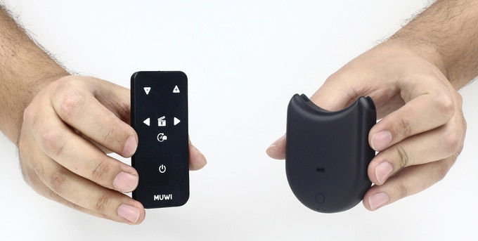 With FLOW-X, MUWI becomes completely hands-free. You can adjust speed, direction and control your camera remotely.
