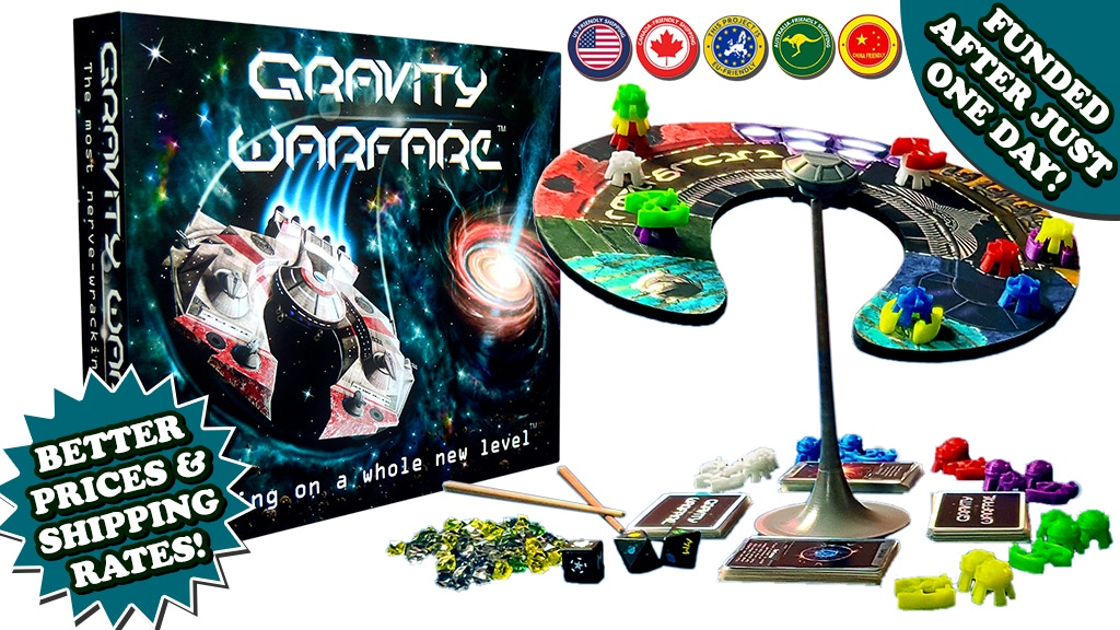(Relaunch) Gravity Warfare™ - Gaming on a Whole New Level. project video thumbnail