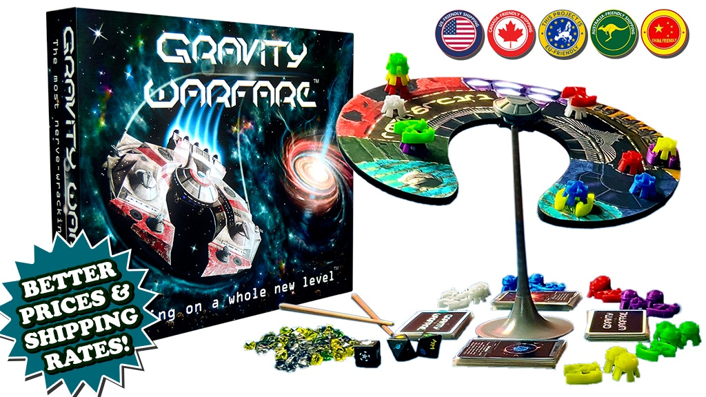 (Relaunch) Gravity Warfare™ - Gaming on a Whole New Level.