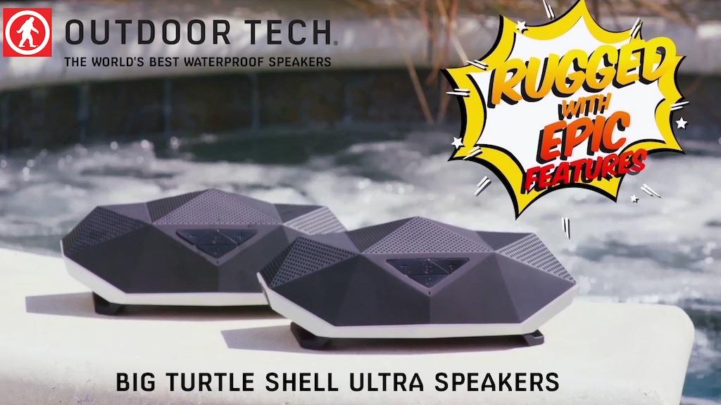 The Big Turtle Shell Ultra - Speaker, Lantern & Powerbank project video thumbnail