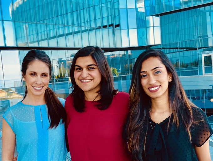 Co-Founders: Molly, Ankita, Rochelle and Sonia (not pictured)