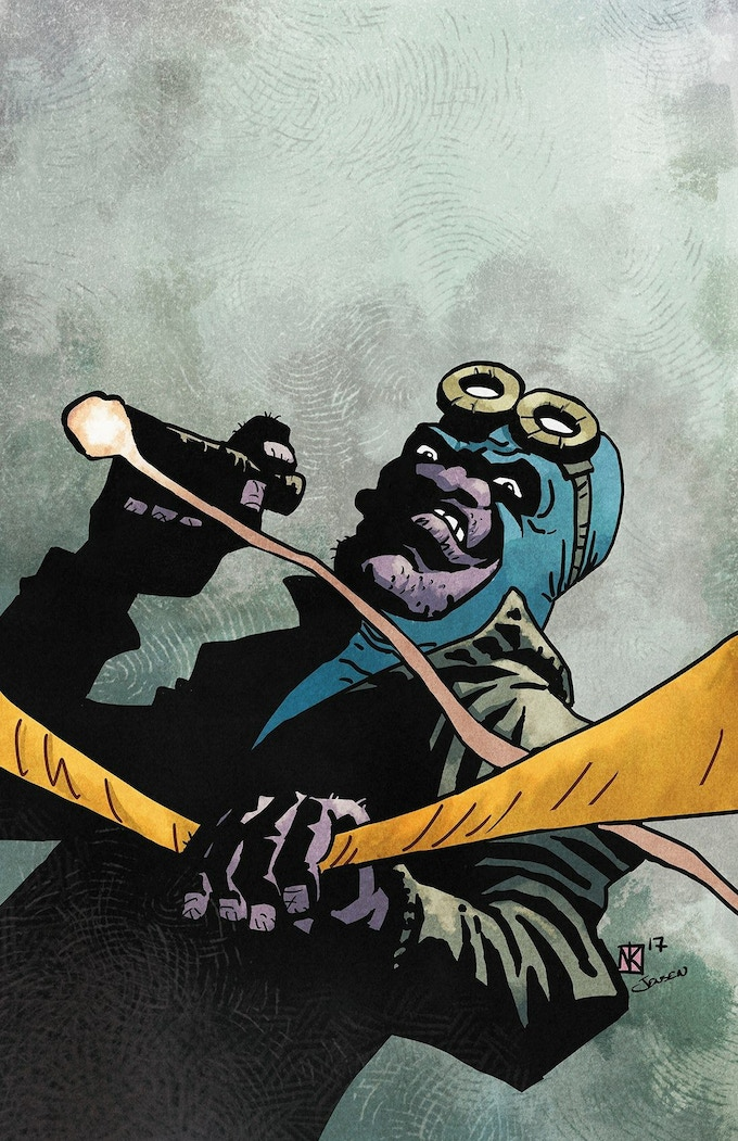 Art by Nathan Kelly & colours by Josh Jensen.