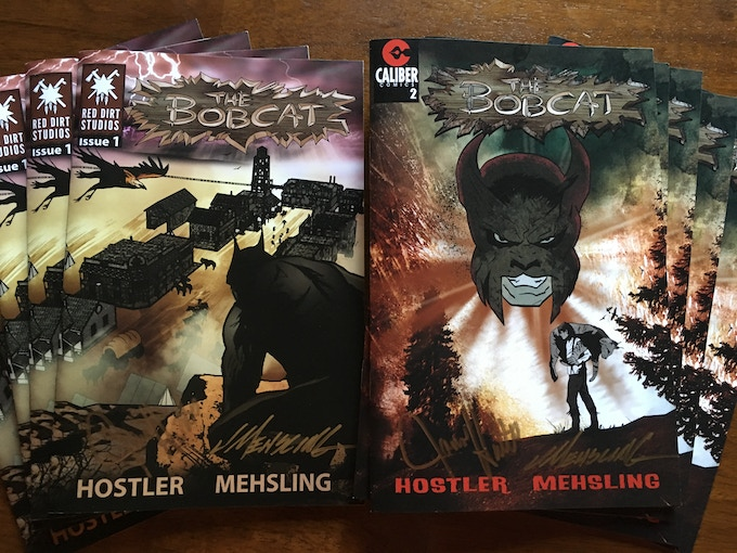 The Bobcat Issues 1 & 2