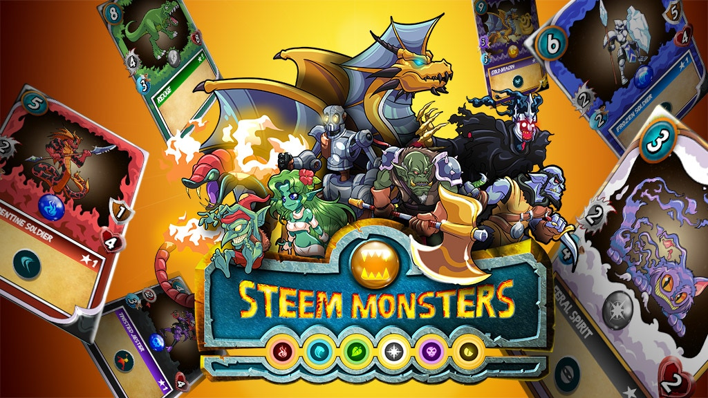 Steem Monsters: A Digital, Role Playing, Trading Card Game! project video thumbnail