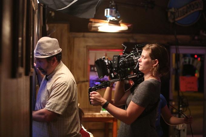 Actor Craig Cackowski and DP/Producer Jeanne Tyson