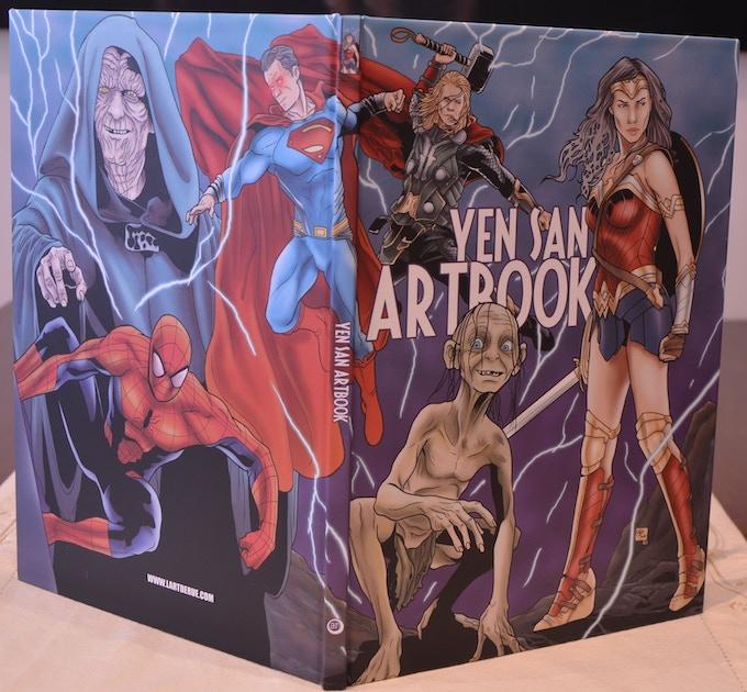 Cover Artbook