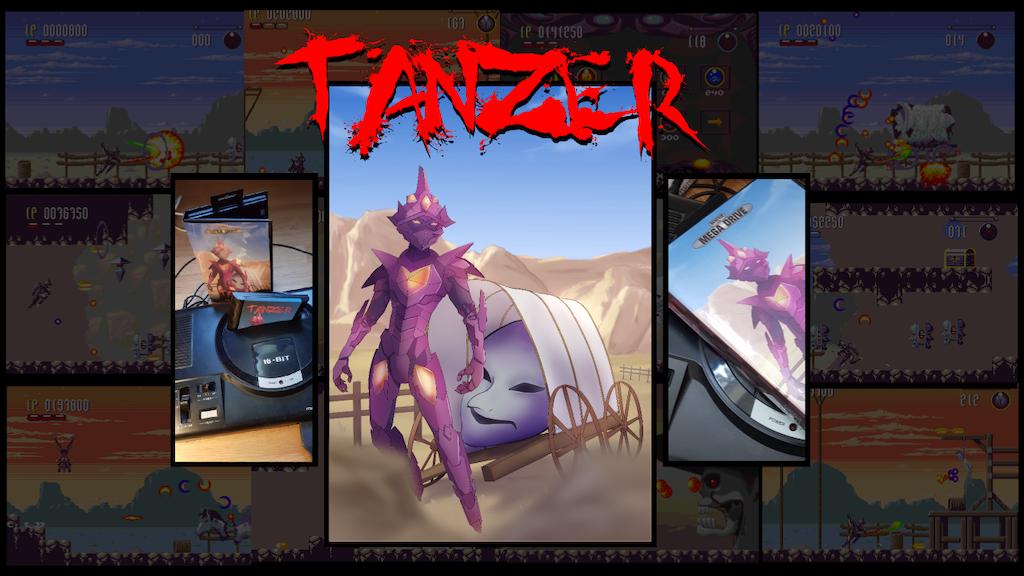 Tänzer: A new SEGA Mega Drive / Genesis Exclusive game project video thumbnail