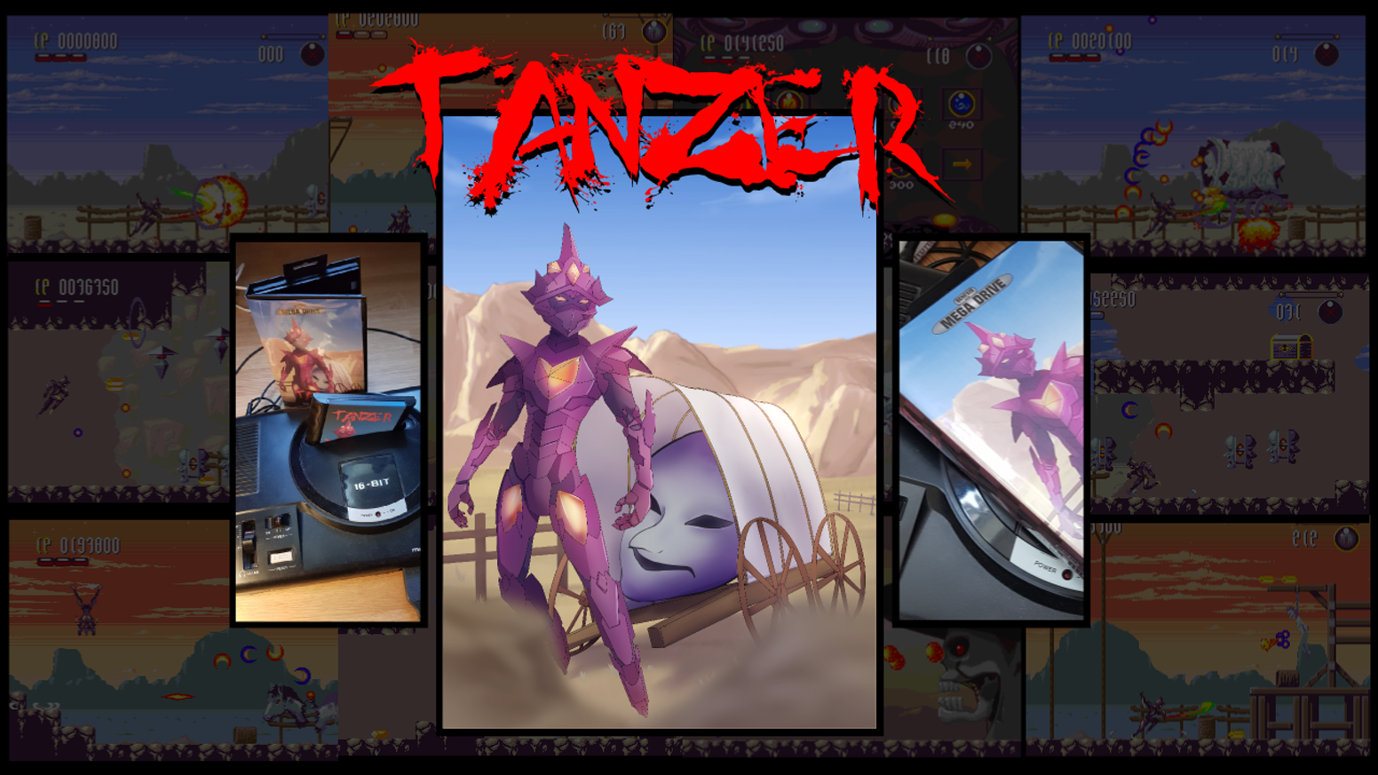 Tänzer is a new hack and slash platformer game, produced exclusively for the SEGA Mega Drive / Genesis.