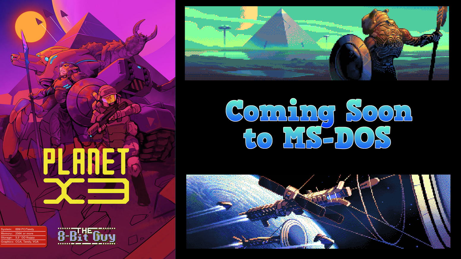 Planet X3 for MS-DOS by David Murray — Kickstarter