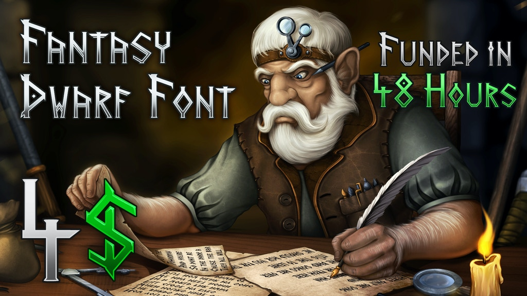 Fantasy Font - Dwarf project video thumbnail